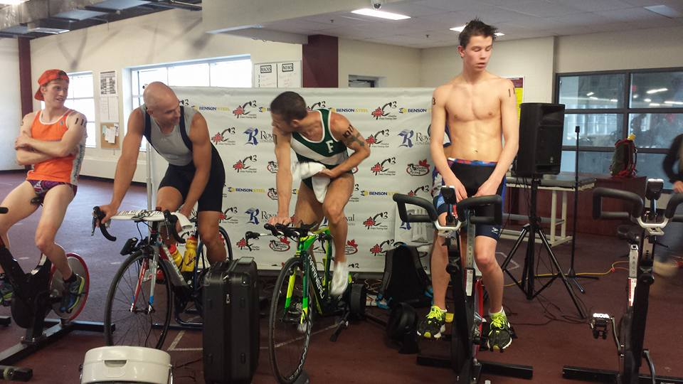 indoor triathlon bike of pros
